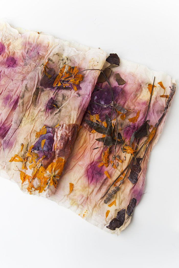 DIY Bundle Dyeing by Jessica Marquez for Design Sponge