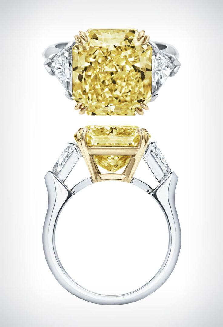 Best 25+ Yellow Diamond Rings Ideas On Pinterest  Yellow Diamond  Engagement Ring, Yellow Engagement Rings And Round Diamond Ring