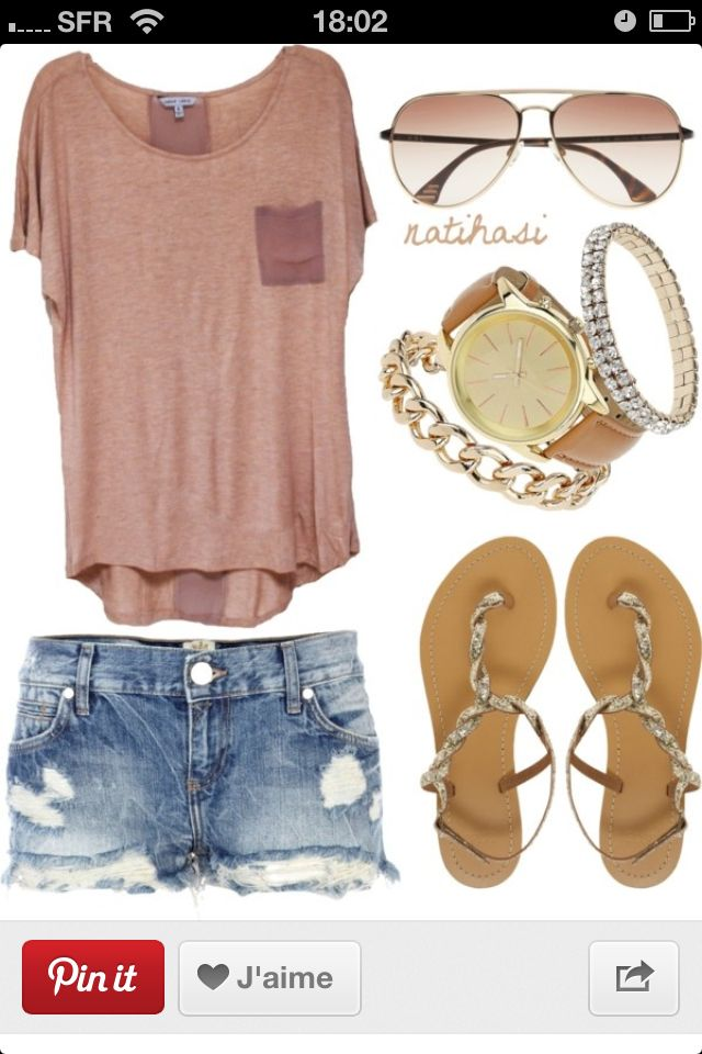 Tee & jeans