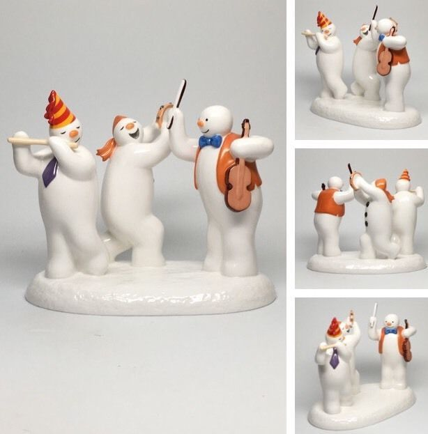 "Coalport Snowman Figurine Limited Edition ""All Together Now"" 