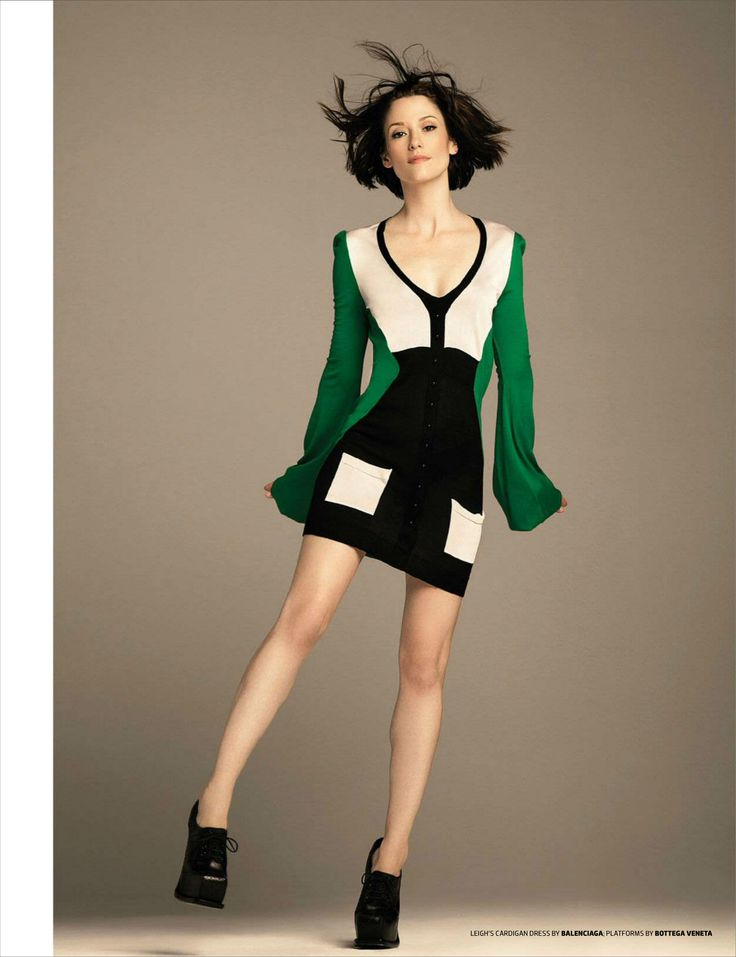 Chyler Leigh in Balenciaga photographed by Mike Ruiz for Emmy Magazine, Issue 03.