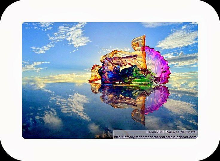 La Fotografía Efectista Abstracta. Fotos Abstractas. Abstract  Photos.: Abstract Photo 2994 Crystal Landscape 137  The lon...