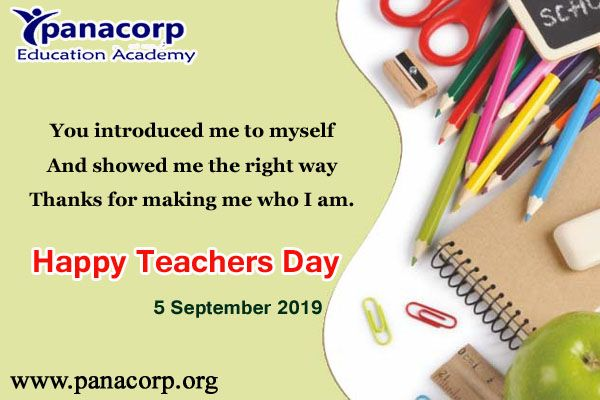 Panacorp Software Solutions Happy Teachers Day Thesis Writing Book Editing