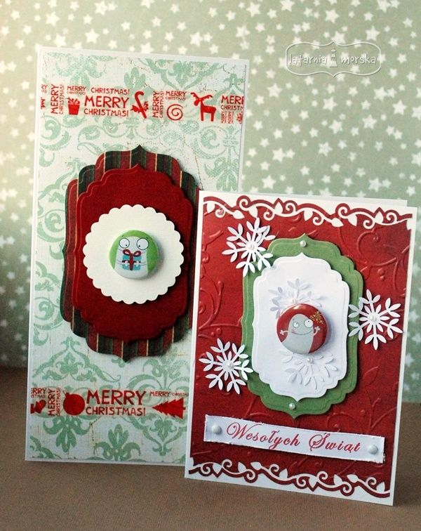 Funny Christmas cards  http://www.hurt.scrap.com.pl/plakietki-flair-buttons-potworna-kolekcja-swieta.html