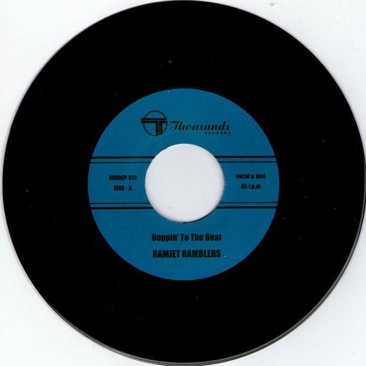 Ramjet Ramblers from japan Wild rockabilly single