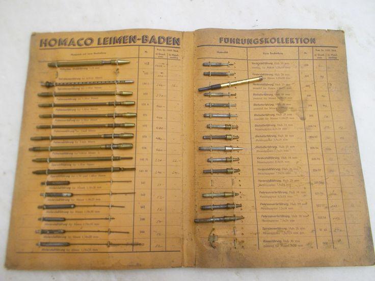Catalogo lapices mecanicos Hoffmann ,Mayer & co