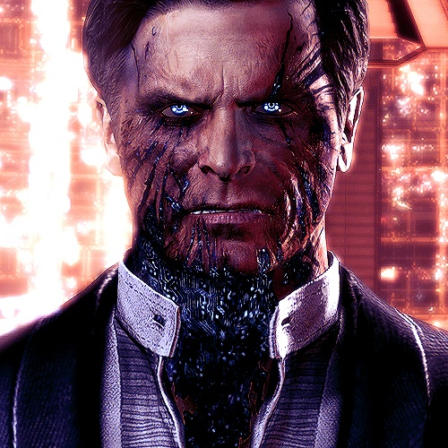 The Illusive Man (Mass Effect Series). Voiced by famed Martin Sheen, Illusive Man is one of the most charismatic character in video game. Too bad he choose the wrong side