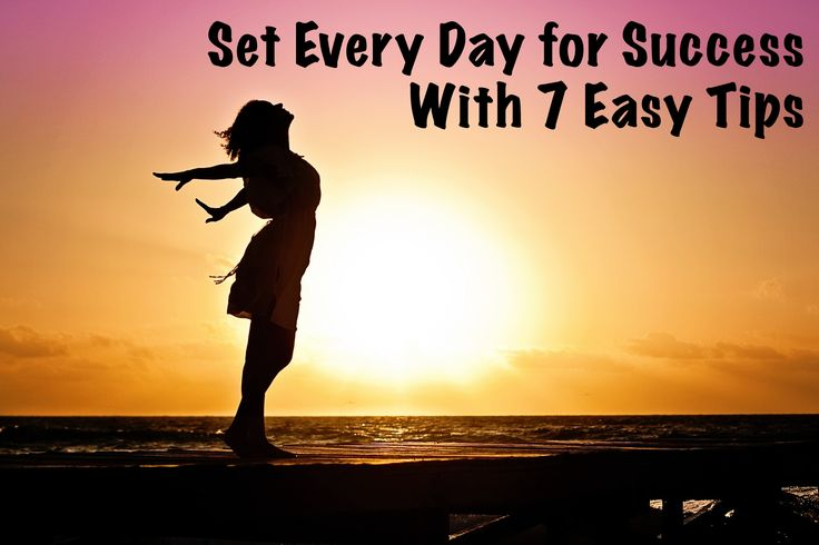 Such easy tips to make sure your day runs smoothly!
