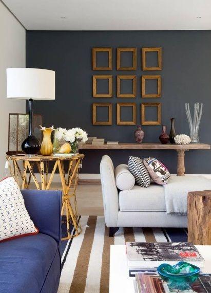 Paredes, Cuadros, Azul, · Modern InteriorsHome ...