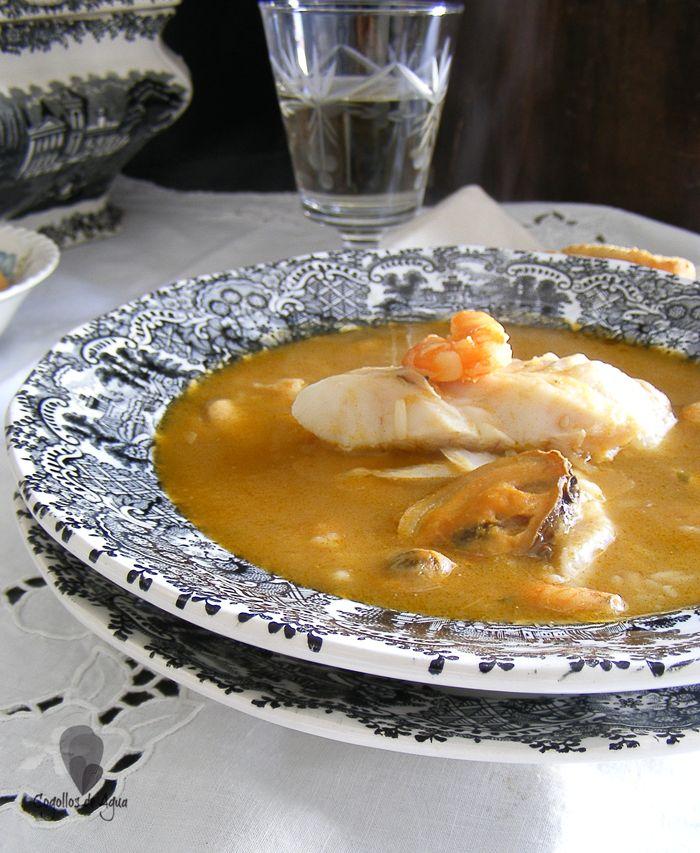 Sopa De Merluza Y Marisco