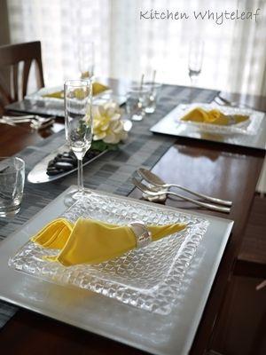 涼しい夏テーブル♪ の画像|Kitchen Whyteleaf ~からだに優しいお料理を~