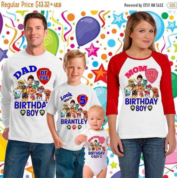 Hey, I found this really awesome Etsy listing at https://www.etsy.com/listing/269734872/25off-paw-patrol-birthday-shirt-paw