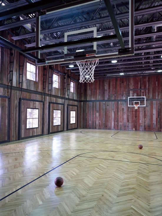 Best 25 indoor basketball court ideas on pinterest for Indoor basketball court cost