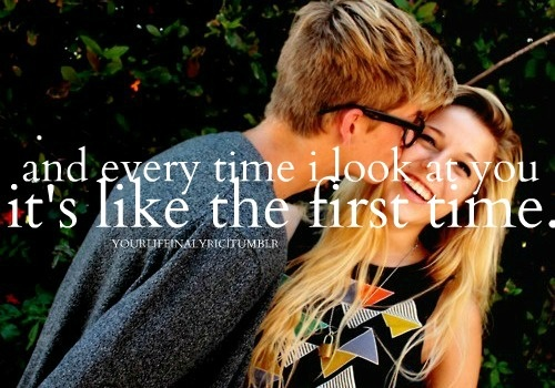 You are the best thing, that's ever been Mine. <3