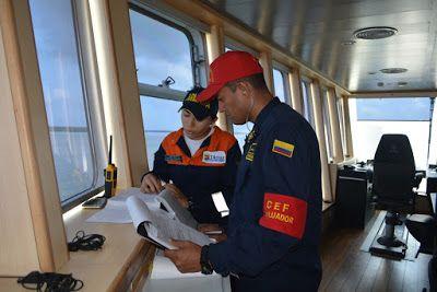 Centro de Evaluación de la Flota (CEF) certifica buques de la Dimar