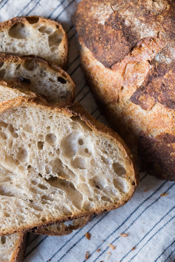 beginners sourdough bread crumb