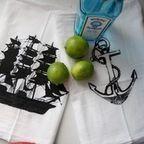 Swell Acquainted Tea Towel Set - eclectic - dishtowels - by ModCloth