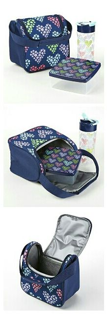 Matching kids' lunch sets are perfect for packing healthy and delicious lunches for back to school! Available in multiple styles for boys and girls. View our large assortment of insulated lunch bags and sets at www.fit-fresh.com #fitfresh