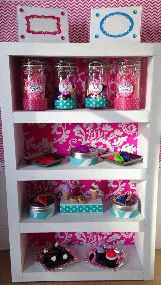 Cakery bakery middle tall unit display shelf by QueenEmmaDesigns, $75.00