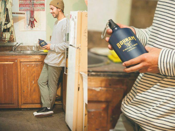 Brixton Heist Beanie / Volcom Floyd Crew / Volcom Vorta Twill Jeans / Converse CTAS Pro Suede / Bohnam Potomac Water Bottle