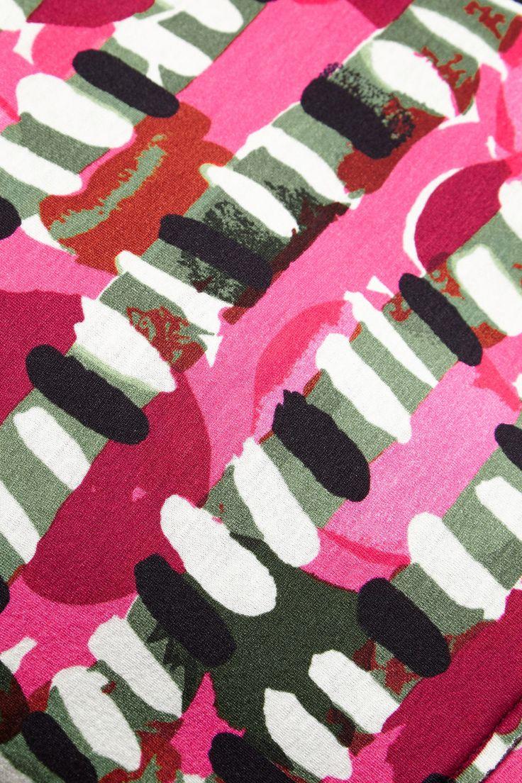 MARNI Printed scuba top