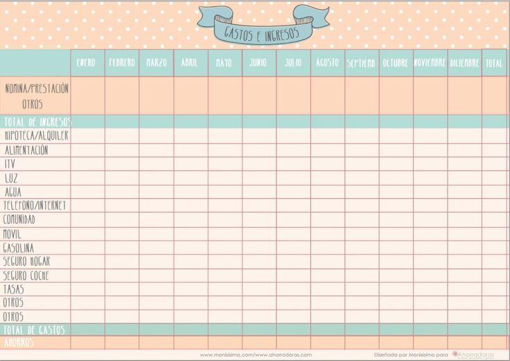 17 mejores ideas sobre Planificador Mensual en Pinterest ...