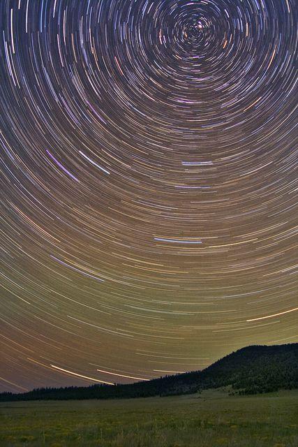 Perseid Meteor Shower, Flagstaff, Arizona by Logan Brumm Photography and Design