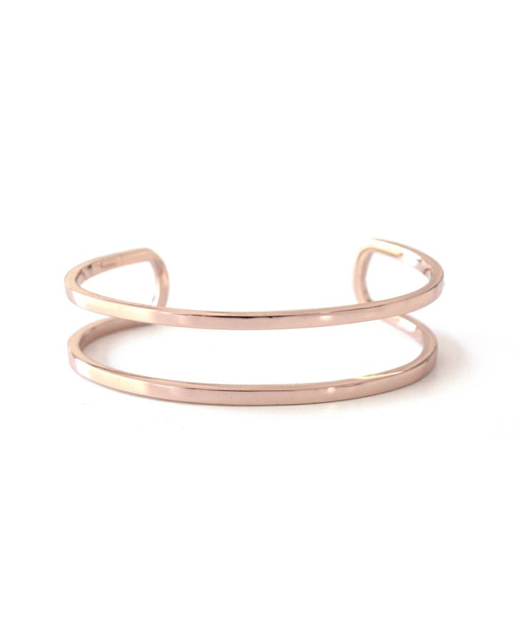 Thin Cage Cuff - Rose Gold - Lust, Covet, Desire
