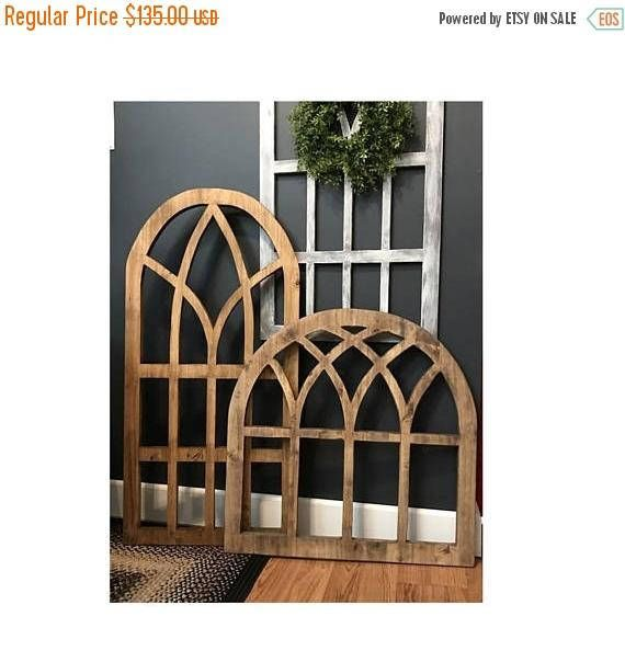 Our 24 x 48 Arch Wood Window Wall Decor are made 3/4 Quality Maple Lumber. Hand-crafted by Willow Hill Signs. WE NOW OFFER OUR ARCHES IN A 32 X 32 AVAILABLE HERE https://www.etsy.com/listing/565441207/arch-wood-window-32-x-32-wall-decor-1 and a 36 x 38 here