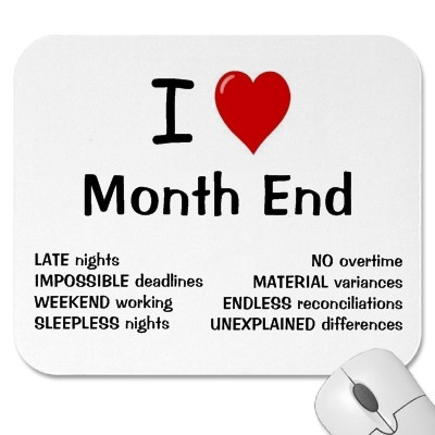 I Heart Month End
