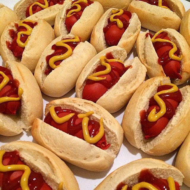 #MofoLounge - Cute Mini Hot Dogs are a massive hit tonight! #Melbourne - http://mofolounge.com.au/cute-mini-hot-dogs/