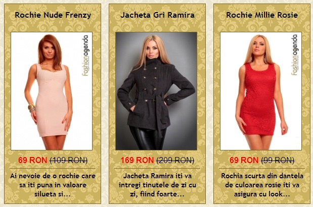 Fii sexy cu bani mai putini doar cu Fashionagenda.ro | Zgarciti.ro - Comunitatea Zgarcitilor din Romania