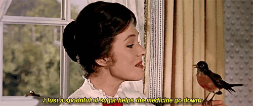 MARY POPPINS ~ Julie Andrews. [Video/GIF]