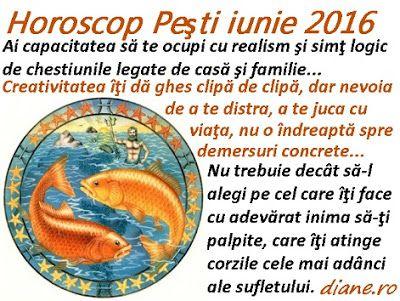 diane.ro: Horoscop Peşti iunie 2016