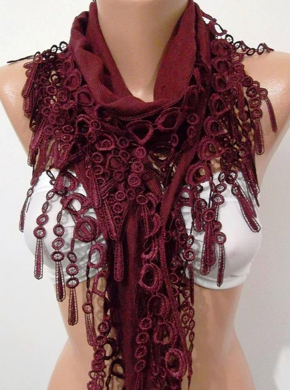Super Elegant  Scarf  It made with good quality  by womann on Etsy, $15.90