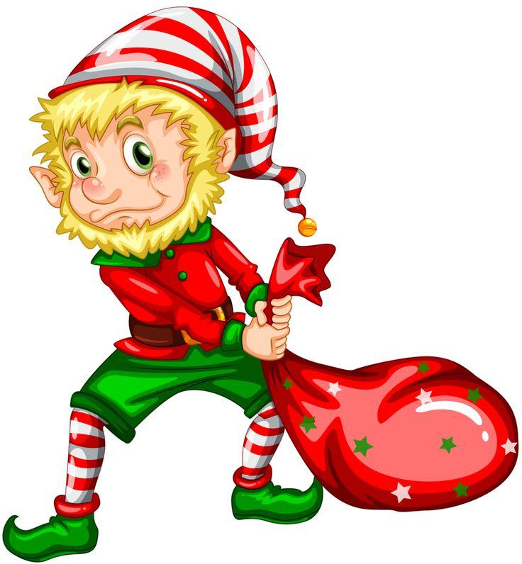 happy elf clipart - photo #23