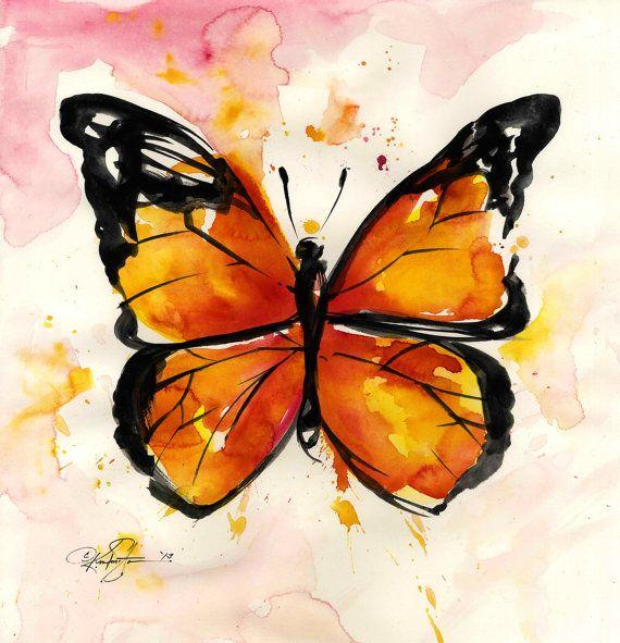 Monarch Butterfly ... No. 2 ... Original by Kathy Morton Stanion