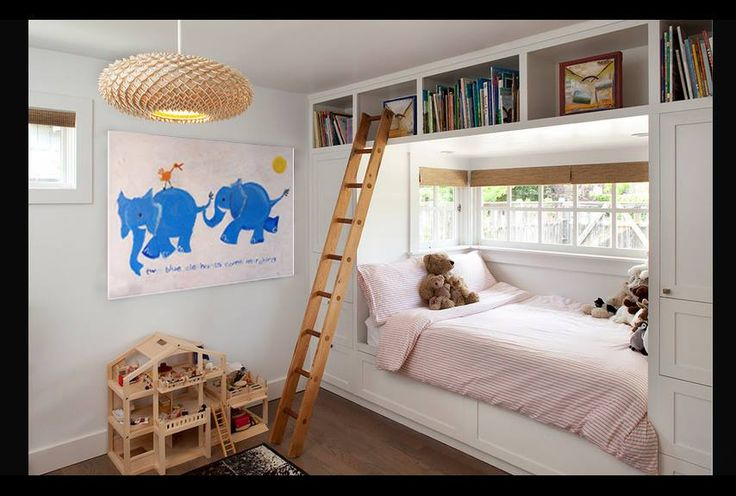 kids room with great storage