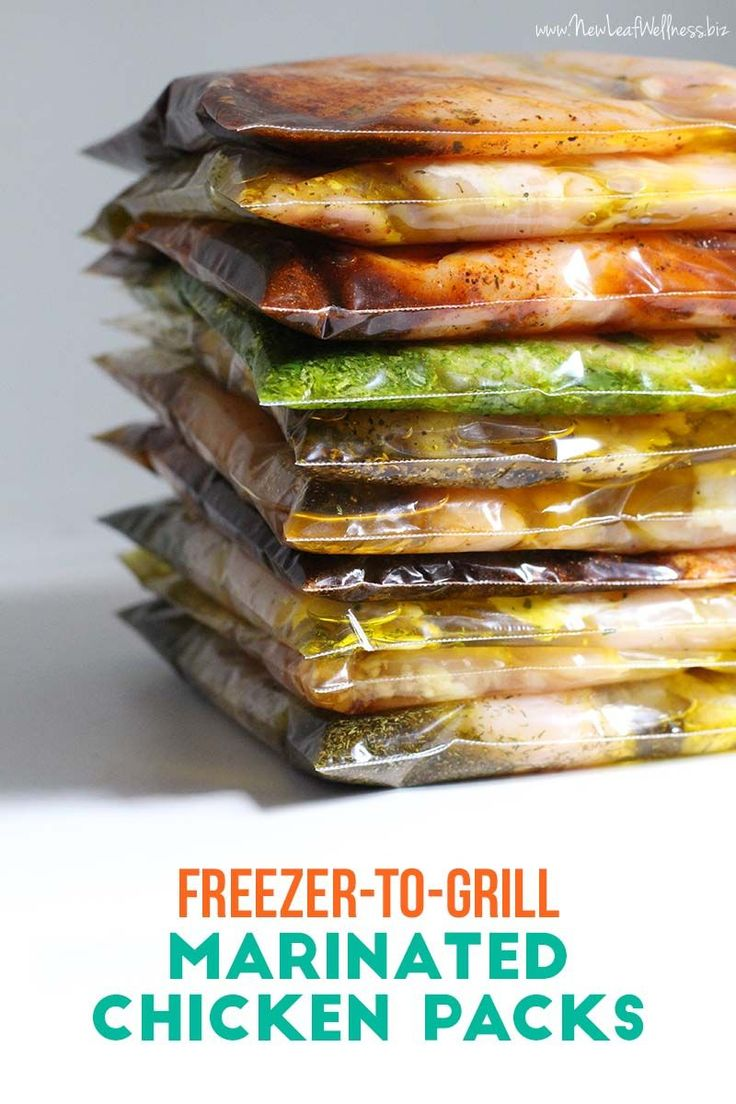 Kelli from New Leaf Wellness shows you how to make 10 Freezer to Grill Chicken Packs in 20 Minutes.