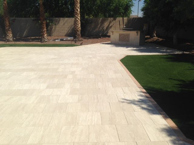 Classic Vein Cut Marble Limestone Pavers In 16 X 16 Dimensions Create A  Stunning Visual