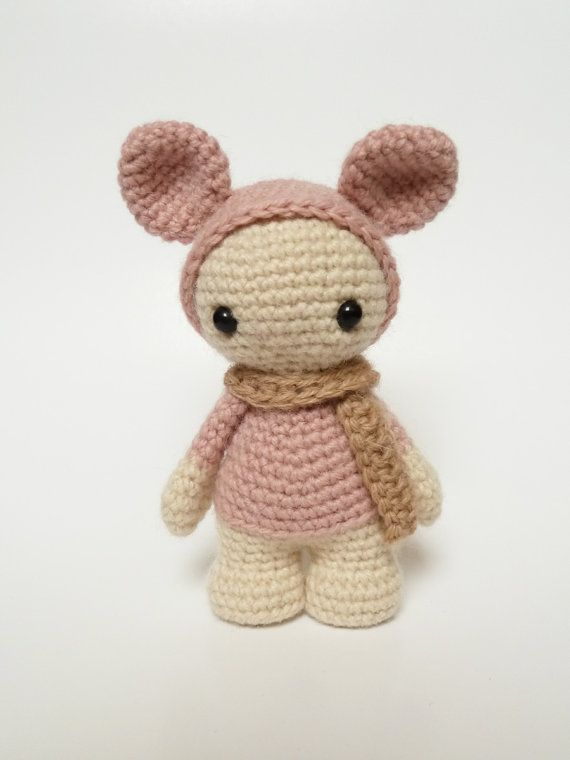Miss Jellybean the cute amigurumi doll by CreepyandCute on Etsy, €22.50