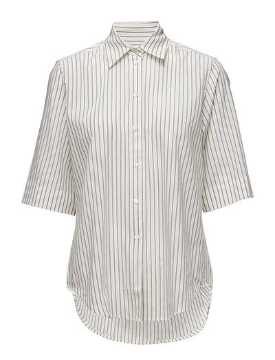 Filippa K Pinstripe Mid Sleeve Shirt