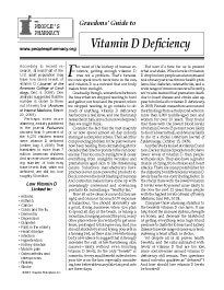 When weekly high-dose vitamin D pills cause discomfort, switching to a daily regimen may help raise low vitamin D levels without distress.