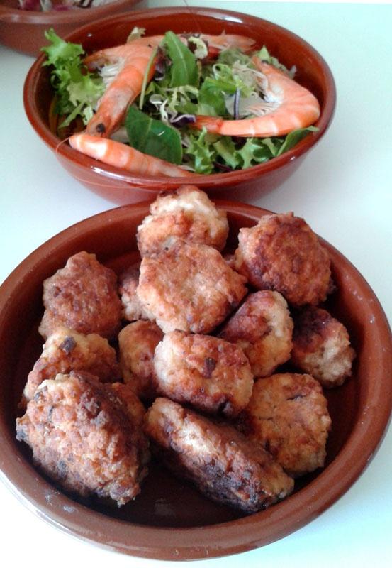 #octopus balls  #Kalymnos, #recetas de pulpo,