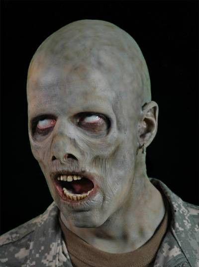 undead zombie horror makeup appliance