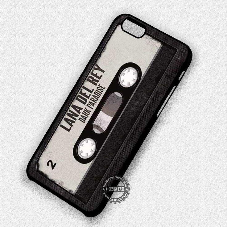 Lana Del Rey Dark Paradise Cassette - iPhone 7 6 5 SE Cases & Covers