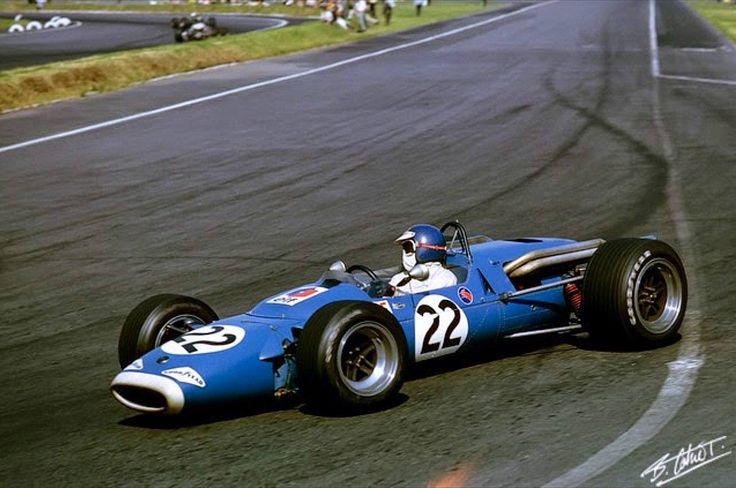 Jean-Pierre Beltoise (Matra MS7 Cosworth) Grand Prix du Mexique 1967 - 'photo Bernard Cahier' Formula 1 HIGH RES photos (Old and New).