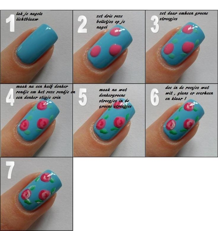 Simple Nail Art Cost: 1000+ Images About Nails Step-by-step Design On Pinterest