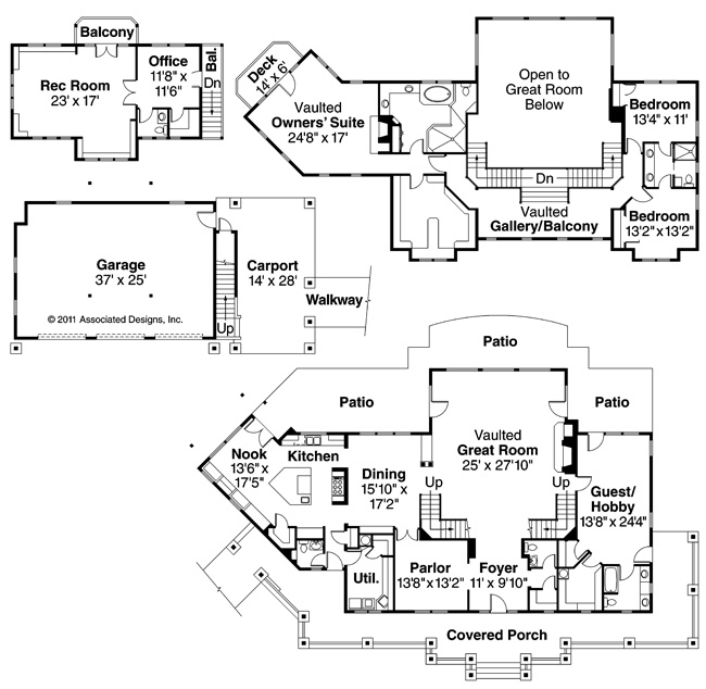 21 best images about 4 bedroom house plans on pinterest for Summerfield designs house plans