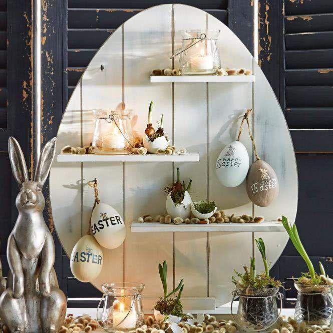 LOBERON Regal Marwin - Werbung #Ostern #osterdeko #deko #dekoration #regal #dekoregal #osterregal #osterei